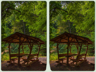 Hiking trail near Rothesuette 3-D / CrossView by zour