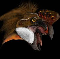 Oviraptor philoceratops by Parula