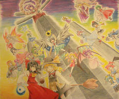 Journey to Eastern Wonderland by freezeex