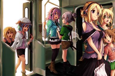 Railroad to the Gensokyo- Sunflower Nocturna by freezeex