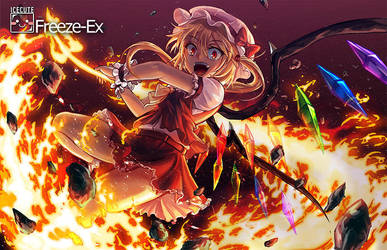 Flandre Scarlet- Scorched Earth by freezeex