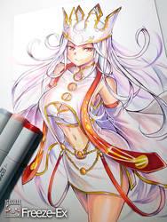 Irisviel The Dress of Heaven by freezeex