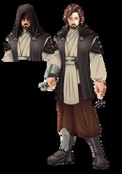 Jedi Knight by YulayDevlet