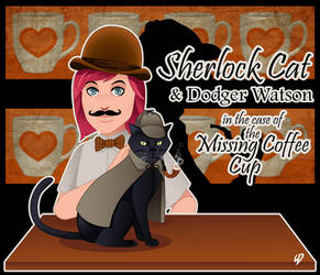 Sherlock Cat and Dodger Watson by YulayDevlet