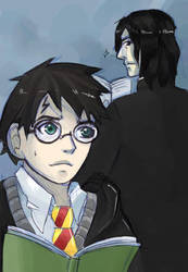 comm. Harry and Severus by sofia-1989