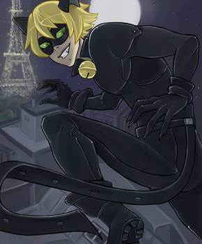 Chat Noir by sofia-1989