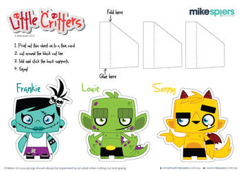 Little Critters Cut out set 1 by spiers84