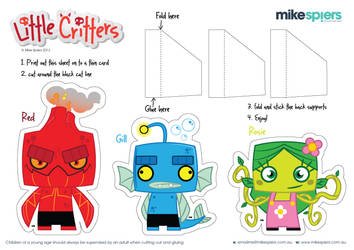 Little Critters Cut out set 2 by spiers84