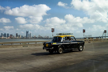 Mumbai Cab by vicken