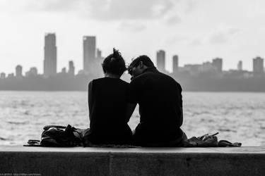 Mumbai Couple by vicken