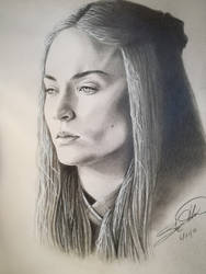 Sansa Stark by Slay-The-Art