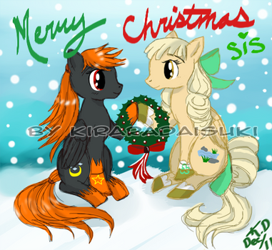 To my dear pony dA sis by kiraradaisuki