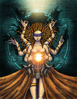 Gorgon Queen by BeholderKin
