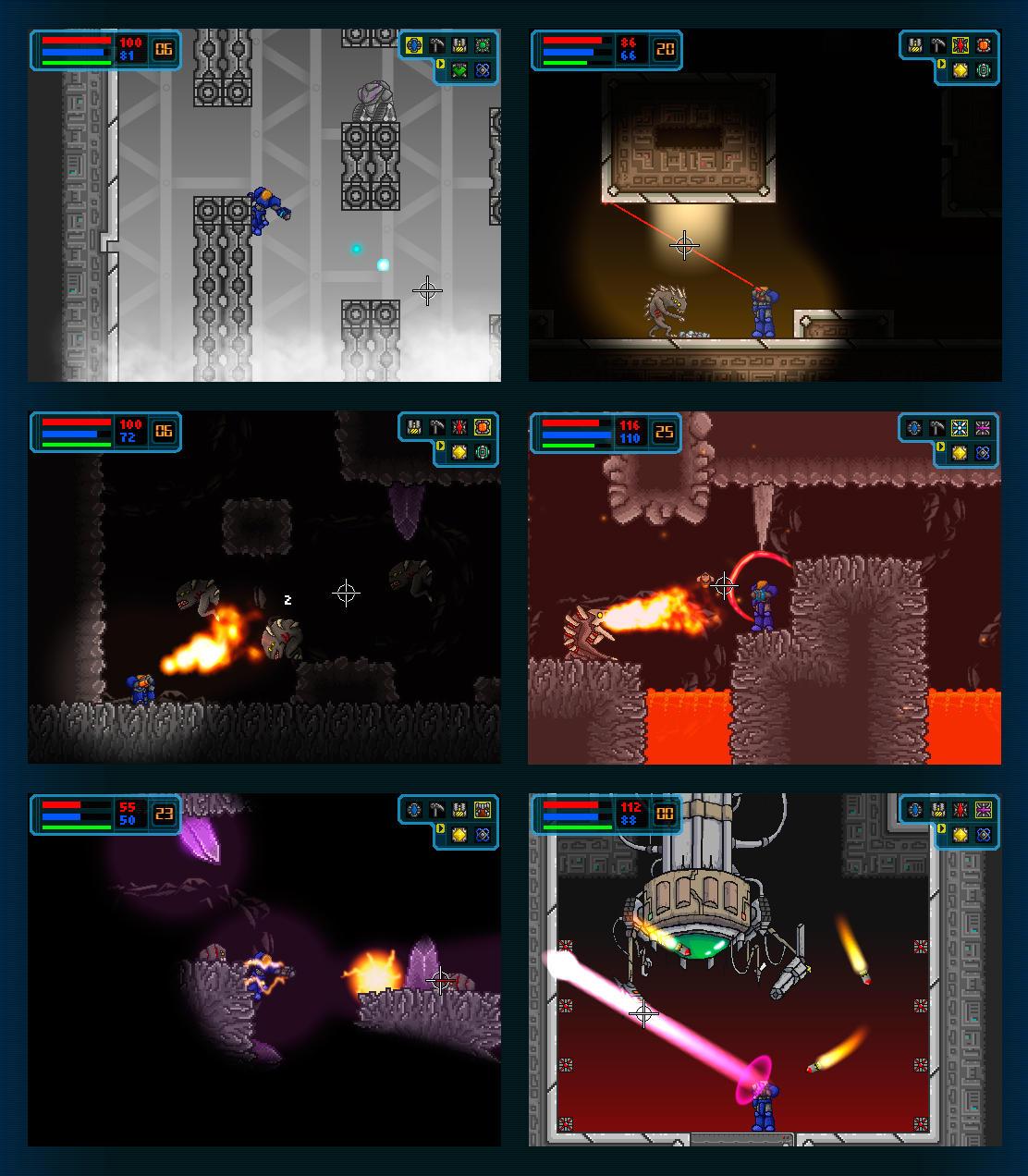 Galactic Marine - Areas 4-6 by BeholderKin