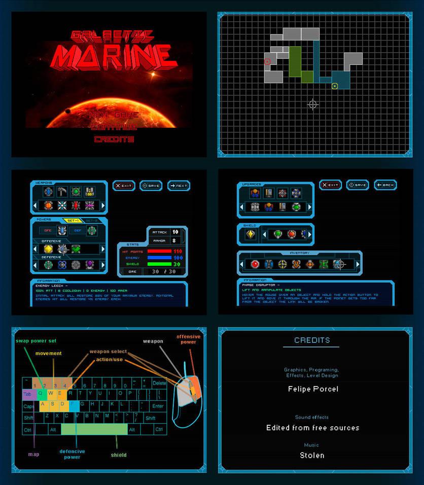 Galactic Marine - Interface by BeholderKin