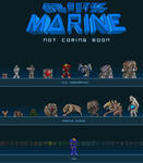 Galactic Marine Poster by BeholderKin