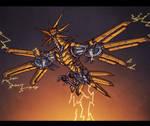Drone 145 by BeholderKin