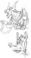 Creatures by BeholderKin