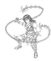 Chain Girl by BeholderKin