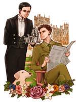 Thomas and Edward by marzo20