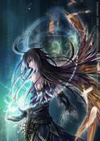The Black Wizard by hizuki24