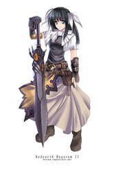 OC - The black sword by hizuki24