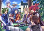 Happy tea time by hizuki24