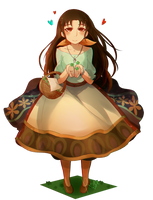 Anissa request from Chicken-Yuki by RoseDraconite