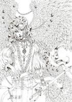 Lucifer before his Fall by BileaNOX