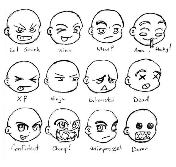 Emoticons Sheet 2 by GeomancerEDG