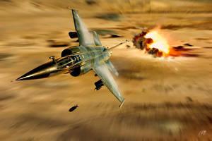 F-1 Strikes by Distantstarr