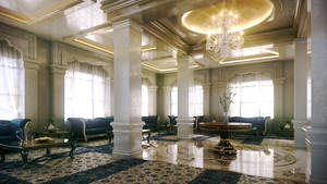 Classical Lobby by kulayan3d