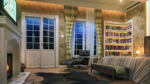Bedroom by kulayan3d