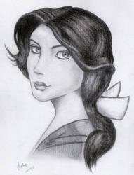 Elizabeth portrait by MatieTR