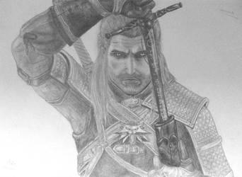 Geralt of Rivia by MatieTR