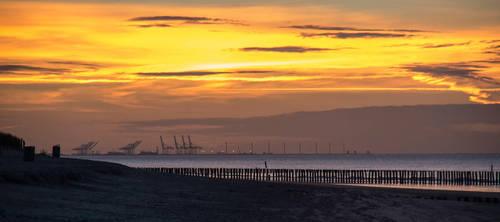 Zeeland Sunset by Elssa