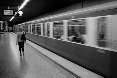 Munich Metro by Elssa