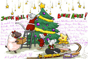 Season's Greetings by Little-Endian