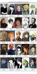 Favorite male characters 2010 by Little-Endian