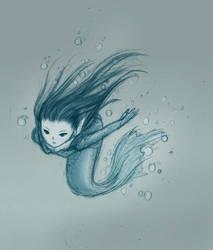 Mermaid by Little-Endian