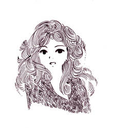 Girl by Little-Endian