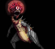 Final Bosses: Mother Brain by Marioshi64