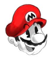 Mario's Head by Marioshi64