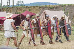 The Line - ACIEM - Roman Legion - Alesia by Carancerth
