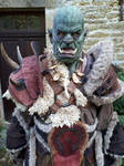 Warcraft Horde :  Orc Cosplay TEST by Carancerth