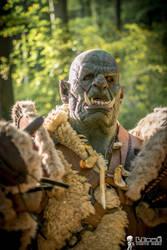 Me GRUMPY ! Warcraft Orc - Horde Cosplay by Carancerth