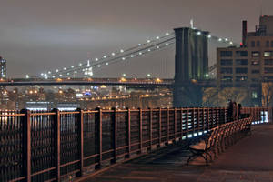 Brooklyn Bridge and Empire State by KS85