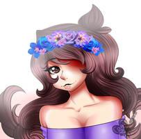 Jaiden Flower Crown by ScarletHeartArts