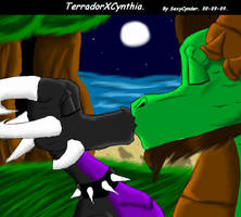 TerradorXCynthia by SexyCynder
