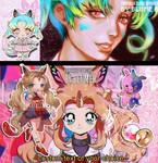 [Farfalla and Insomtralla]Auction adoptable[CLOSE] by ilustrandobrando